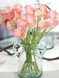 cheap -Artificial Flowers 5 Branch European European Style Calla Lily Tabletop Flower