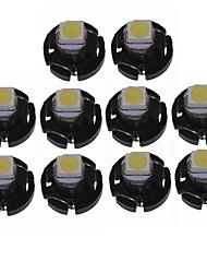 Недорогие -SENCART 10 шт. T3 Автомобиль Лампы 1 Светодиодные лампы Внутреннее освещение For Универсальный Все года