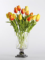 cheap -Artificial Flowers 10 Branch Modern European Style Tulips Tabletop Flower