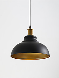 cheap -1-Light Vintage Ceiling Light Pendant Lamp Industrial Retro Loft Iron Shade Lighting Bar Loft Decor Painted Finish