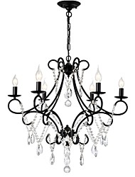 cheap -LightMyself™ 5-Light 70 cm Chandelier Metal Painted Finishes Rustic / Lodge / Country 110-120V / 220-240V