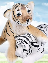 cheap -Pillow Simulation Plush Toy Plush Dolls Stuffed Animal Plush Toy Tiger Lovely Comfy 40cm Imaginative Play, Stocking, Great Birthday Gifts Party Favor Supplies Boys and Girls Adults Kids