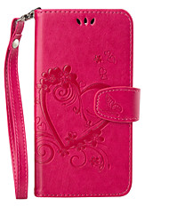 cheap -Case For Motorola Moto G4 Plus / MOTO G4 Wallet / Card Holder / with Stand Full Body Cases Butterfly Hard PU Leather