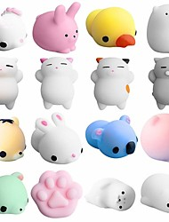 cheap -Squishy Squishies Squishy Toy Squeeze Toy / Sensory Toy Mini Animal Stress and Anxiety Relief Kawaii Mochi For Kid's Adults' Boys and Girls Gift Party Favor 5 pcs / 14 years+ / Random color delivery.