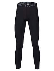 cheap -Men's Running Pants Compression Pants Track Pants Sports Pants Athletic Pants / Trousers Compression Clothing Leggings Sport Exercise & Fitness Quick Dry Breathability Plus Size Dark Grey White Black