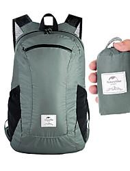cheap -Naturehike 18 L Hiking Backpack Lightweight Packable Backpack Lightweight Rain Waterproof Ultra Light (UL) Waterproof Zipper Outdoor Camping / Hiking Climbing Cycling / Bike Nylon Black Blue Grey
