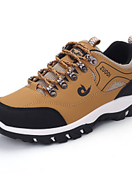 cheap -Men's Fall / Spring & Summer Sporty / Casual Daily Outdoor Trainers / Athletic Shoes Hiking Shoes / Walking Shoes Synthetics Breathable Non-slipping Shock Absorbing Black / Yellow / Light Green