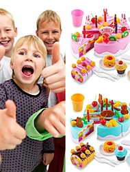 cheap -Toy Kitchen Set Pretend Play Play Kitchen Holiday Family Cake Exquisite Parent-Child Interaction Kid's Boys' Girls' Toy Gift 75 pcs