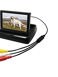 Недорогие -4.3 дюймовый Цифровой экран LCD (выше определение чем anolog экран) 480p 1/4 дюймовый CMOS PC7030 Проводное 170° Камера заднего вида Водонепроницаемый / Автоматическое конфигурирование / LCD экран для