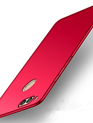 cheap -Case For Huawei P10 Plus / P10 Lite / P10 Ultra-thin Back Cover Solid Colored Hard Plastic
