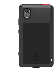 cheap -Case For Sony Xperia XA1 Plus Water / Dirt / Shock Proof Full Body Cases Solid Color Hard Metal