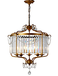 cheap -LightMyself™ 5-Light 63 cm Crystal Chandelier / Pendant Light Metal Painted Finishes Chic & Modern / Traditional / Classic 110-120V / 220-240V