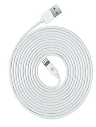 cheap -Lightning Cable 2m-2.99m / 6.7ft-9.7ft High Speed / Quick Charge PVC(PolyVinyl Chloride) USB Cable Adapter For iPhone