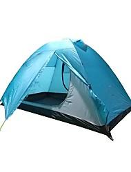 Недорогие -2 человека Световой тент На открытом воздухе Легкость С защитой от ветра Дожденепроницаемый Двухслойные зонты Карниза Сферическая Палатка 2000-3000 mm для