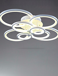 cheap -106 cm Flush Mount Lights Metal Acrylic Painted Finishes 85-265V