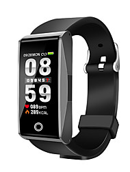 cheap -Smartwatch for iOS / Android Heart Rate Monitor / Blood Pressure Measurement / Information / Camera Control / APP Control Pedometer / Call Reminder / Sleep Tracker / Sedentary Reminder / Alarm Clock