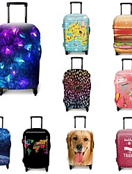 cheap -Protective Gear Luggage Cover Dust Proof Durable Thicken Polyester 1pc Black Purple Blushing Pink Travel Accessory