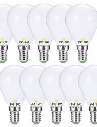 Недорогие -EXUP® 10 шт. 7 W 680 lm E14 / E26 / E27 Круглые LED лампы G45 6 Светодиодные бусины SMD 2835 Декоративная Тёплый белый / Холодный белый 220-240 V / 110-130 V / RoHs / CCC / ERP / LVD
