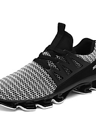 cheap -Men's Comfort Shoes Tissage Volant Fall / Spring & Summer Sporty / Casual Athletic Shoes Running Shoes / Fitness & Cross Training Shoes Breathable Black / Red / Gray