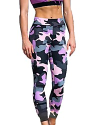 cheap -Women's Yoga Pants Multi Color Cotton Zumba Running Fitness Pants / Trousers Bottoms Activewear Breathable Quick Dry Micro-elastic