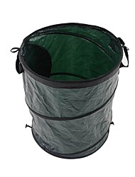 cheap -Pop-Up Trash Can Waterproof Portable Retractable Elasticity PP (Polypropylene) Fishing Camping / Hiking / Caving Picnic Army Green 1 pcs