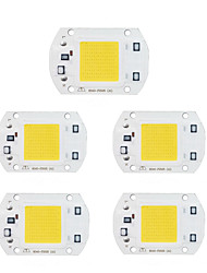 cheap -5pcs 30W 220V LED COB Chip for DIY LED Flood Light Spotlight