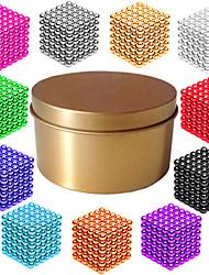 Недорогие -216*1   216*2   216*3 pcs 3mm Магнитные игрушки Магнитные шарики Конструкторы Сильные магниты из редкоземельных металлов Неодимовый магнит Головоломка Куб Магнитный / профессиональный уровень