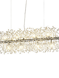 cheap -90 cm Crystal Chandelier Metal Electroplated Traditional / Classic 110-120V / 220-240V