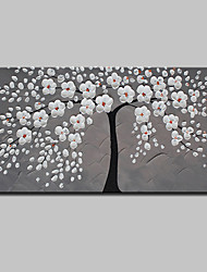 cheap -Mintura® Hand Painted Rich Tree Oil Painting On Canvas Modern Abstract Flower Wall Art Pictures For Home Decoration Ready To Hang