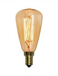 cheap -1pc 40 W E14 ST48 Warm White 2300 k Retro / Decorative Incandescent Vintage Edison Light Bulb 220-240 V
