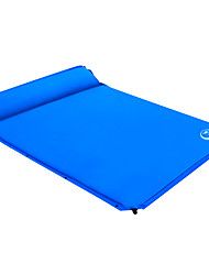 cheap -Shamocamel® Self-Inflating Sleeping Pad Outdoor Camping Portable Comfortable Thick 187*158*3 cm Camping / Hiking Outdoor for 2 person Spring Summer Fall Dark Blue Dark Green