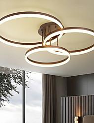 cheap -3-Light 3-Head Geometric Modern Simplicity Led CeilingLamp Acrylic Living Room Dining Room Bedroom Light Fixture