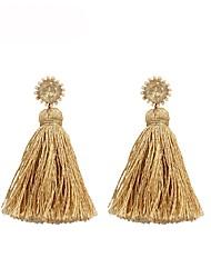 cheap -Women's Drop Earrings Tassel Ladies Tassel Bohemian Fashion Boho Earrings Jewelry Gold / Silver / Blue For Daily Evening Party