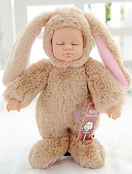 cheap -Reborn Doll Girl Doll Baby Girl 10 inch Full Body Silicone Silicone - Newborn lifelike Cute Eco-friendly Child Safe Non Toxic Kid's Unisex / Girls' Toy Gift