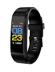 cheap -KL115 Wristband BT Fitness Tracker Support Notify/Heart Rate Monitor Waterproof Sport Bluetooth Smartwatch for IOS/Android OS Phones