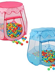 cheap -Play Tent & Tunnel Ball Pool Playhouse Tent Box Foldable Convenient Parent-Child Interaction Polyester Indoor Outdoor Spring Summer Fall 3 years+ Boys' Girls' Pop Up Indoor/Outdoor Playhouse for Boys
