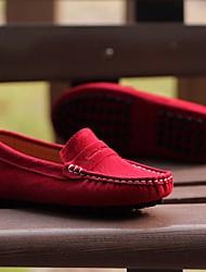 cheap -Boys' Loafers & Slip-Ons Comfort Nubuck Little Kids(4-7ys) Big Kids(7years +) Casual Wine Black Spring