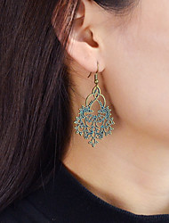 cheap -Drop Earrings Mismatched Heart Ladies Earrings Jewelry Gold / Green / Blue For Daily Date