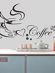 Недорогие -Наклейка на стену Декоративные наклейки на стены - Простые наклейки Персонажи Положение регулируется Съемная