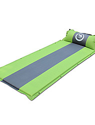 cheap -Shamocamel® Self-Inflating Sleeping Pad Outdoor Camping Warm Moistureproof Thick Camping / Hiking Outdoor for 1 person Light Green