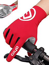 cheap -Winter Bike Gloves / Cycling Gloves Mountain Bike Gloves Mountain Bike MTB Road Bike Cycling Thermal / Warm Breathable Anti-Slip Sweat-wicking Full Finger Gloves Sports Gloves Black Sky Blue Yellow