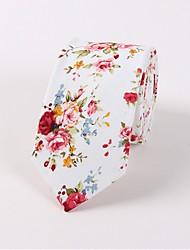cheap -Men's Vintage / Party Necktie - Floral
