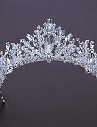 cheap -Alloy Tiaras with Rhinestone 1pc Wedding / Birthday Headpiece