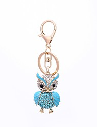 cheap -Keychain Owl Vintage Casual Ring Jewelry Blue / Pink For Gift Daily