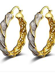 cheap -Women's Hoop Earrings Classic Machete Star Ladies Fashion Earrings Jewelry Gold For Party Daily
