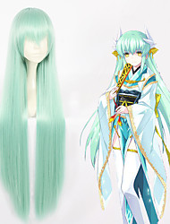 cheap -Fate / Grand Order FGO Kiyohime Cosplay Wigs All 40 inch Heat Resistant Fiber Anime Wig