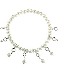 cheap -Women's Pearl Charm Bracelet Drop Ladies Fashion Imitation Pearl Bracelet Jewelry Gold / Silver For Daily Date