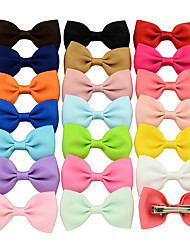 cheap -Clips Hair Accessories Grosgrain Wigs Accessories Girls' 20pcs pcs 1-4inch cm Party Daily Boutique Cute