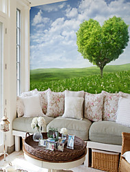 cheap -Customized Big Tree 3D Large Wall Covering Mural Wallpaper Fit Bedroom Bedroom Landscape