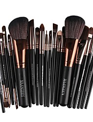 cheap -22PCS Premium Make Up Set Foundation Eyebrow Eyeliner Blush Cosmetic Concealer Powder Brushes
